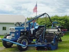 modern raker looks like big tractor